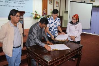 2 KUD di Kuaro MoU Kerjasama Kemitraan Dengan PT BWS