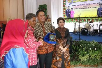 Wabup Berikan Apresiasi  Besar Kinerja & Komitmen AKBP  Roy Satya Putra