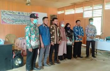 Kukuhkan Pengurus GPMB Desa Pengguren Jaya, Kasrani : Jadikan Perpustakaan Sumber Inspirasi dan Literasi