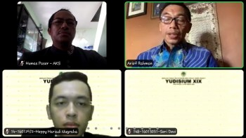Yudisium Mahasiswa STIE WP Melalui Virtual Meeting