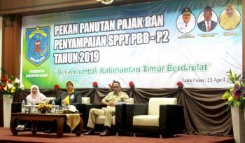 Sekda Harapkan Aparat Pemerintah Paser Menjadi Contoh & Panutan Masyarakat dalam Penyampaian SPT