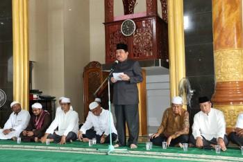 Bupati Hadiri Halal Bihalal di Masjid Rahmatul Ummah