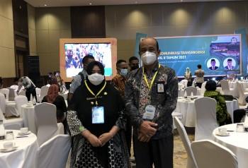 Bangun Komitmen Kembangkan Kawasan Transmigrasi, Wabup Masitah ikuti Forum Komunikasi Transmigrasi Regional II Tahun 2021