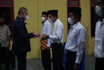 Bupati Lantik Anggota BPD  di Kecamatan Tanjung Harapan