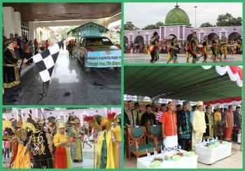 Parade Budaya Berlangsung Heboh, Dari Bupati hingga OPD Kenakan Baju Adat
