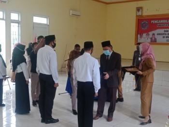Lantik Anggota BPD, Wabup Berpesan Wujudkan Kerja Cedas dan Berkualitas Untuk Pembangunan Desa