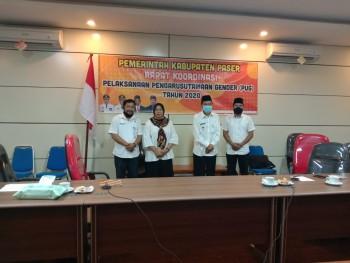 Dinas PPKBP3A Gelar Rakor PUG Desa Virtual untuk Sinergikan Pelaku Pembangunan