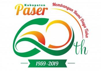 DOWNLOAD TEMA DAN LOGO RESMI HARI JADI KE-60 KABUPATEN PASER TAHUN 2019