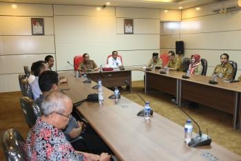 SMPN 2 Batu Sopang Wakil  LSS UKS,  Tingkat Nasional  Tim Juri di Terima Wakil Bupati