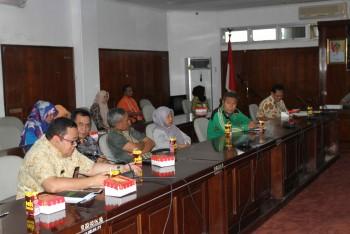 Kunjungan DPD RI, Pimpinan PD Keluhkan ADD dan Pemotongan Anggaran Pusat